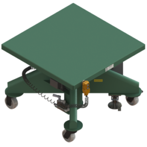 "Lange Lift 36"" x 36"" lift table"
