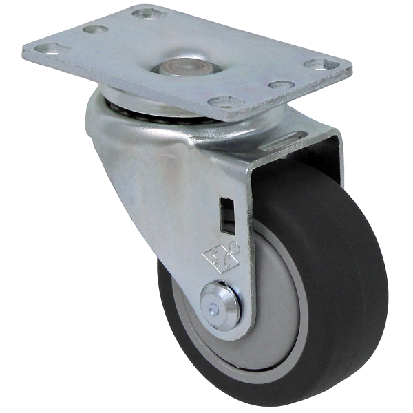 """13TP30GI4406YY: Durable USA Thermo-pro 3"""" swivel caster"""