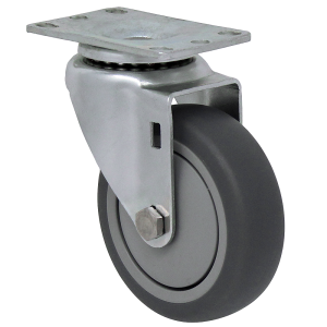 """13TP40GI4406YY: Durable USA 13-series 4"""" thermo pro swivel casters"""