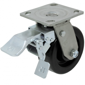 Durable LPI DT total locking caster